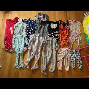 Other - 12 MONTH BABY GIRL PAJAMAS